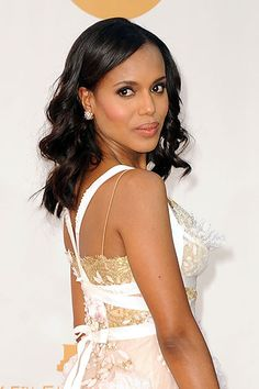 Ride the Wave: The Best Retro Curls at the Emmys - Kerry Washington