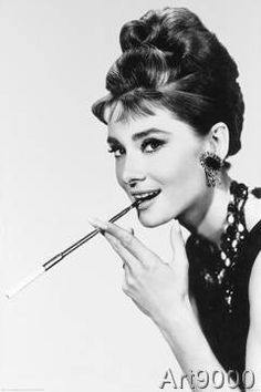 Breakfast At Any Prints Audrey Hepburn Poster Audrey Hepburn