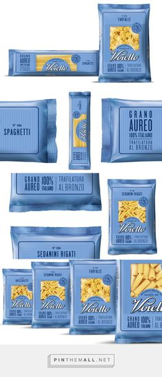 Voiello pasta designed by Isabela Sertã. Pin curated by #SFields99 #packaging #design