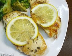 Draven Made: Lemon Rosemary Chicken
