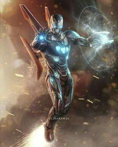 Iron Man! War Machine! Uhhh... some armored guy!