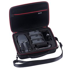 Aoile DJI Mavic Air Carrying Case Storage Bag Carry Case Drone Accessories for Foldable Drone and Remote Controller