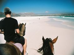 Horse Riding Horse Riding on Noordhoek Beach, Cape Town, South Africa Horseback Riding, Horse Riding, Cape Town, South Africa, Riding Helmets, Horses, Adventure, Day, Beach
