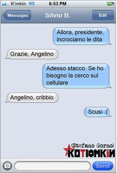 #kotiomkin #alfano #berlusconi