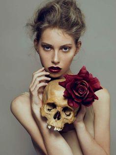 Photography Giel Domen& Kenneth v d Velde MUA Mariska de Jong@VipCosmetics HAIR Mariska de Jong model Fleur@paparazzi model managment #commercial#passion#hairstyling#sculls#armani#make-up#coiffure#