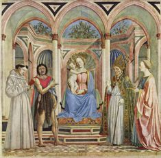 Veneziano - Sacra Conversazione - Salle des conversations - Les sources