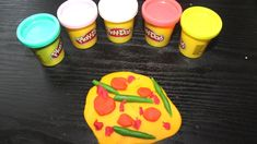 Play Doh Pizza Learn Colors for kids, Toddlers and preschoolers