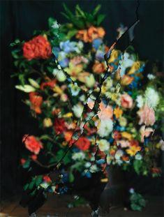 Exploding Mirrors: The Photography of Ori Gersht - Design Milk Bouquets, Mirror Photography, Color Photography, New York Galleries, Broken Mirror, Silk Flower Arrangements, Flower Photos, Silk Flowers, Pretty Flowers