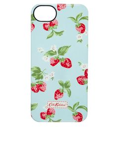 Cath Kidston – Hülle für iPhone 5 nit klassischem Erdbeermuster (34,18 €) [ASOS]