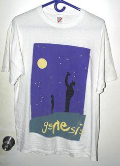Genesis The Way We Walk Phil Collins Rock Official Tee T-Shirt Mens Unisex