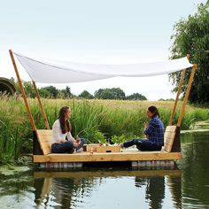 Before I start my next project, I wanted to share this pic with you, because I think it is is so peaceful, happy and adventurous. I love that atmosphere! I intended this raft not for long trips but for friends and family spending a good time together. Just sitting there, surrounded by nature, having a great conversation... . . #wanderlust #diy#selfmade #pallet #woodworking#adventure #travel #holiday #vacation #awesome #instagood #goodtimes #raft#photooftheday #beautiful #glamping #outside…