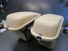 Harley #davidson xlch xlh sportster 1957 - 1967 #saddlebags case brackets #vintag,  View more on the LINK: http://www.zeppy.io/product/gb/2/400504499683/