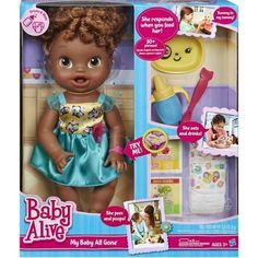 Baby Alive My Baby All Gone African-american on Amazing Baby Photo 5148 Black Baby Dolls, Baby Girl Dolls, My Baby Girl, Baby Alive Doll Clothes, Baby Alive Dolls, Baby Life, Muñeca Baby Alive, Baby Doll Diaper Bag, Candy Theme Birthday Party