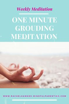 It only takes one minute to start a mindfulness practice with your family. If you are looking for some kids mindfulness activities to help them regulate their emotions, then this is a great mindful exercise to start with. #kidsmindfulnessactivities #meditation