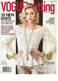 VOGUE KNITTING HOLIDAY 2012 ( 35 NEW KNITS  THE SEASON'S TOP TRENDS ! )   eBay