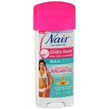 Nair Argan Oil Glides Away Hair Remover At Walgreens Get Free