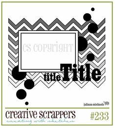 Creative Scrappers: Juliana Michaels