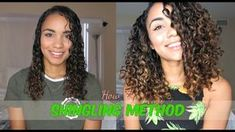 UPDATED CURLY HAIR ROUTINE ⎮ SHINGLING METHOD for DEFINED CURLS ⎮ 3B HAIR