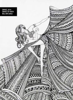 Doodle art Woman Knitwear and Sweaters womans cardigan sweaters Doodle Art Drawing, Zentangle Drawings, Mandala Drawing, Cool Art Drawings, Pencil Art Drawings, Art Drawings Sketches, Zentangle Patterns, Nature Drawing, Drawing Ideas