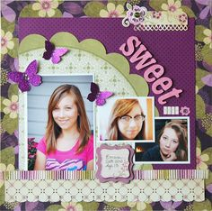 Scrapbooking Layout Ideas