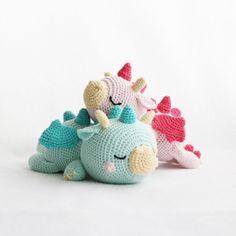 Bratt The Baby Dragon Amigurumi Pattern