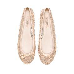 BAILARINA BRILLO - Zapatos - Mujer - ZARA España