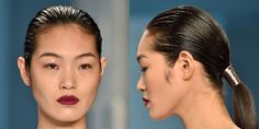 The New York Runways Are Bringing Back Hair Accessories  - ELLE.com