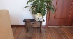 Plant Stand - Wood Plant Stand - Indoor Plant Stand - Small Plant Stand - Modern Plant Stand - Plant Holder - Outdoor Plant Stand Wood Bench Family sign, home sign, wood signs Wooden Bench made from n Small Plant Stand, Modern Plant Stand, Wood Plant Stand, Wooden Plant Stands Indoor, Wooden Planters, Outdoor Plants, Outdoor Gardens, Plants Indoor, Kids Yard