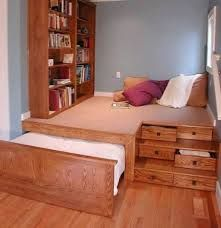 pullout bed under raised floor - Google Search