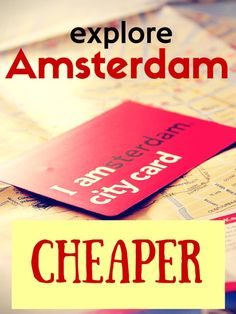 Are you going to visit Amsterdam? Check out how you can do it CHEAPER!