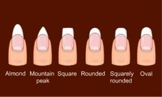 Other choices when nail technician asks