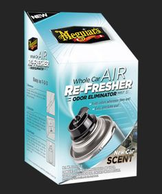 Meguiar's Whole Car Air Re-Fresher Odor Eliminator Review