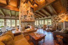 Tour a Secluded Rustic Home in Eagle, Colo. | 2016 | HGTV >> http://www.hgtv.com/design/ultimate-house-hunt/2016/bringing-the-outside-in/bringing-the-outside-in-secluded-rustic-home-in-eagle-colo?soc=pinterest