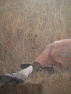 Christina's World [detail] - Andrew Wyeth