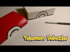 Pokemon dobozka készítés - Making Pokeball box with Pikachu from Pokemon
