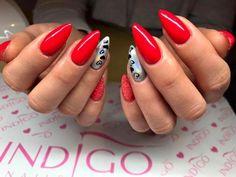 Red Delicious Gel Polish by Jessica Kufelin #nails #nail #indigo #indigonails #red #hot #sexynails #valentinesday #valentines #rednail