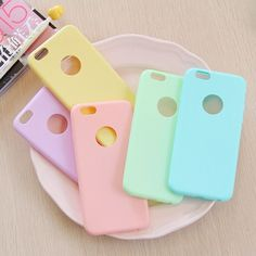Cho i phone candy màu matte case bìa cho iphone 7 6 6 s se tpu silicone mềm slim fit case cho iphone 6 plus 6 s plus 5 5 S Accessoires Iphone 6, Boutique Accessoires, Funda Iphone 6s, Capas Iphone 6, Iphone 6s Plus, Iphone Phone Cases, Diy Coque, Coque Iphone 5s, Telefon Apple