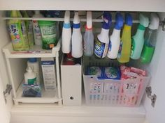 洗剤のストック管理:☆シンプル整理・収納術☆Brilliant lifeブリリアントライフ