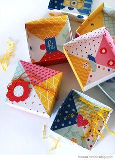 """子どもの頃、女の子なら誰もが楽しんだ""""折り紙""""。この折り紙が今海外でも大人気なんです!すぐマネしたくなる折り紙を使った簡単なギフトボックスやラッピングを紹介します♪"""