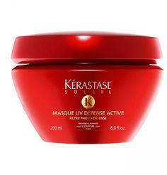 Protection solaire cheveux : masque UV Defense de Kérastase, 42 euros