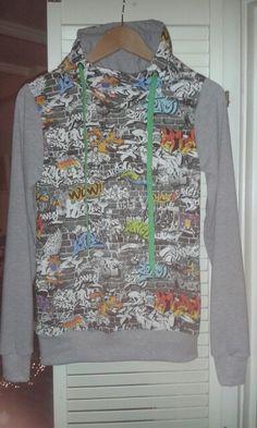 Stoere grafittie trui