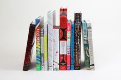 From the Design Desk: these book spines have that little extra something.
