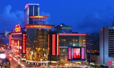 The Sands Macau Casino, a very good one with a huge games room.