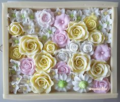 Jelly Cake, Agar, Jello, Bakery, Pudding, Packaging, Nice, Flowers, Ideas