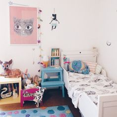 Instagrams's Inspiration. Cute Kids' Rooms- Petit&Small