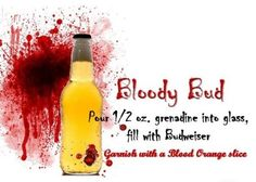 True Blood Party Bloody Bud