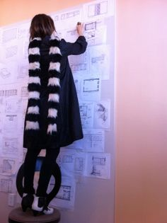 Working on my inspiration wall. Xk