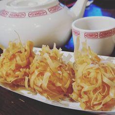 Dim Sum, fried shrimp ball and pearl tea. Great night with great conversations. #timwahjax #dimsum #fried #shrimps #ball #pearl #tea #conversation #bemaifoodie