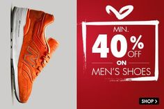 Snapdeal Baisakhi / Vishu Fashion Sale offer : Min 40% Off on Men Shoes - Best Online Offer
