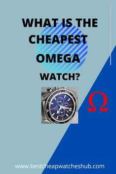 What is the Cheapest Omega Watch? You don't need to spend thousands of dollars on a high-quality watch. #omegawatch #usawatches #omega #omegamania #omegamad #omegaseamaster #vintageomega #swisswatch #luxurywatch #menswatches #watches #watchcollectors #watchaddict #fashionwatches #wristwatches #smartwatches Best Cheap Watches, Watches For Men, Vintage Omega, Omega Seamaster, Wristwatches, Fashion Watches, Omega Watch, Smart Watch, Smartwatch